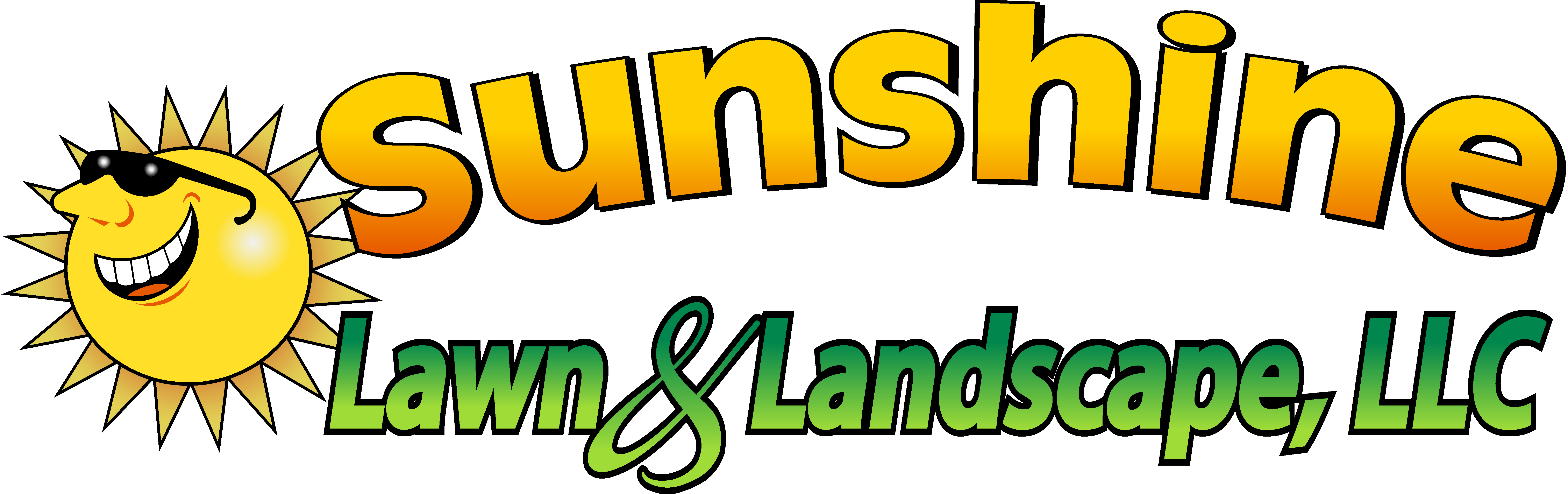 Sunshine Lawn and Landscape Logo